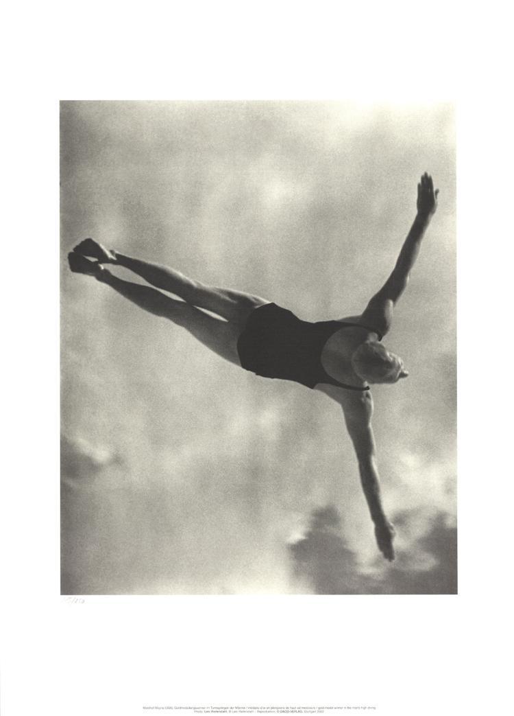 Leni Riefenstahl - Gold Winner in the Men's High Diving - 2002