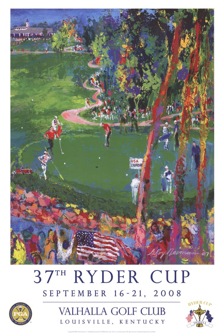 Leroy Neiman - 37th Ryder Cup - 2007