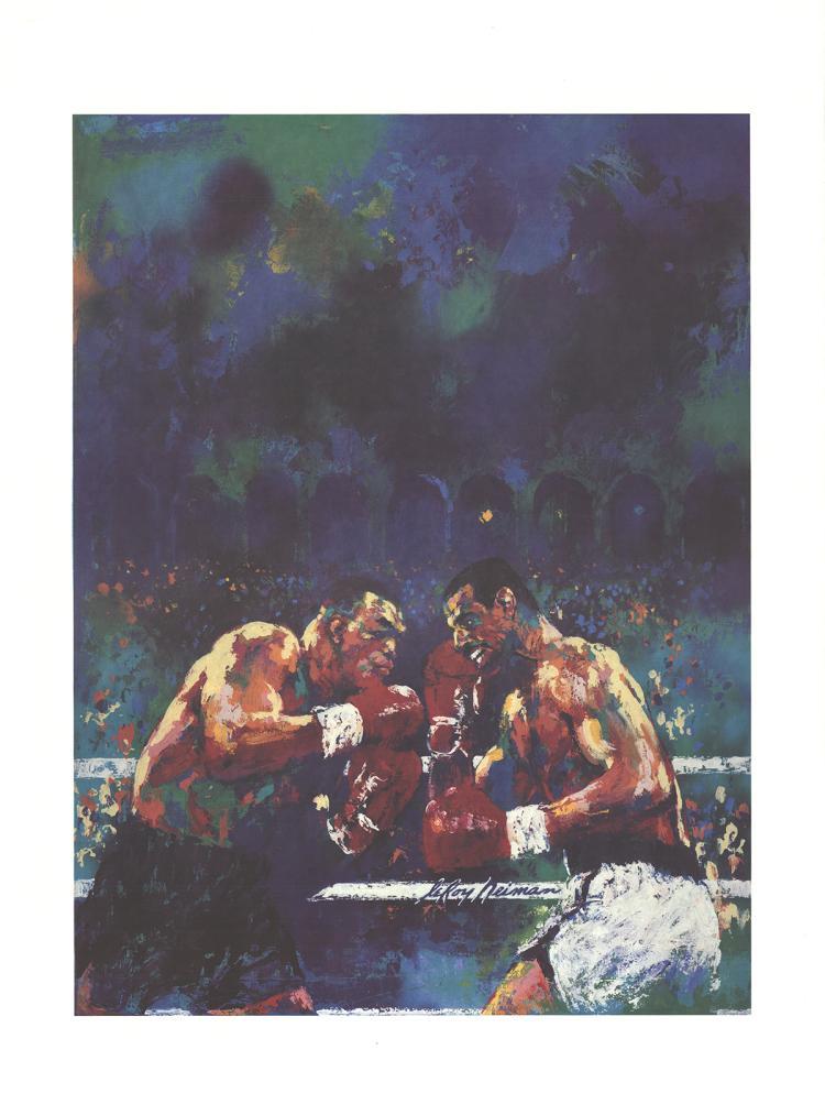 Leroy Neiman - Tyson vs. Spinks