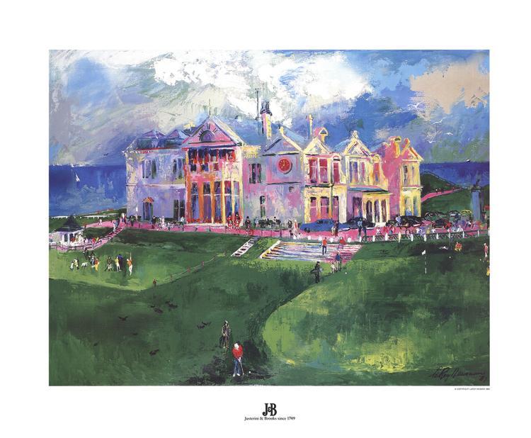 Leroy Neiman - St. Andrews - 1993