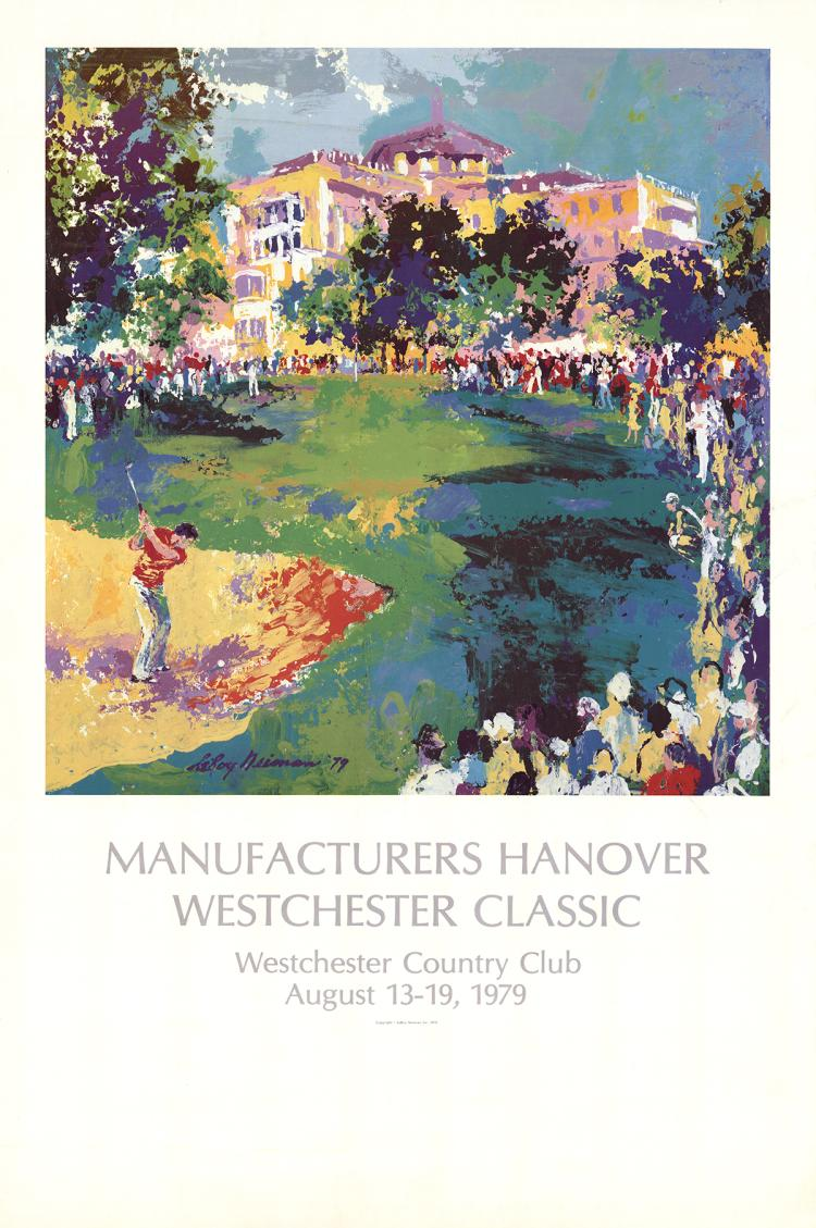 Leroy Neiman - Manufacturers Hanover Westchester Classic - 1979