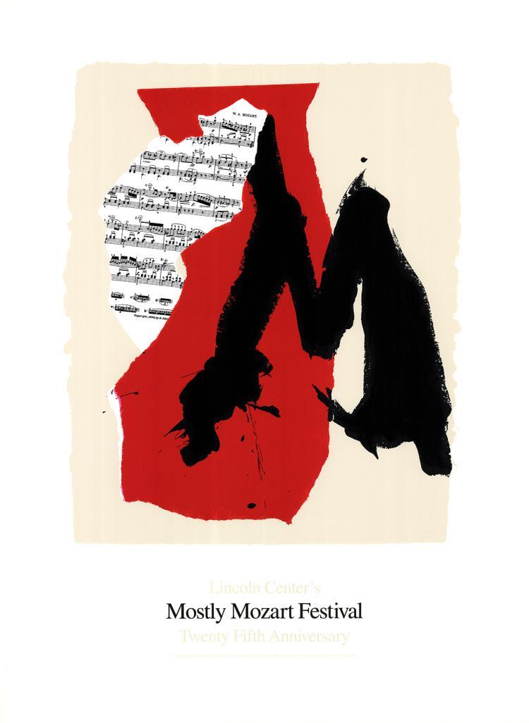 Robert Motherwell - Mostly Mozart Festival - 1991