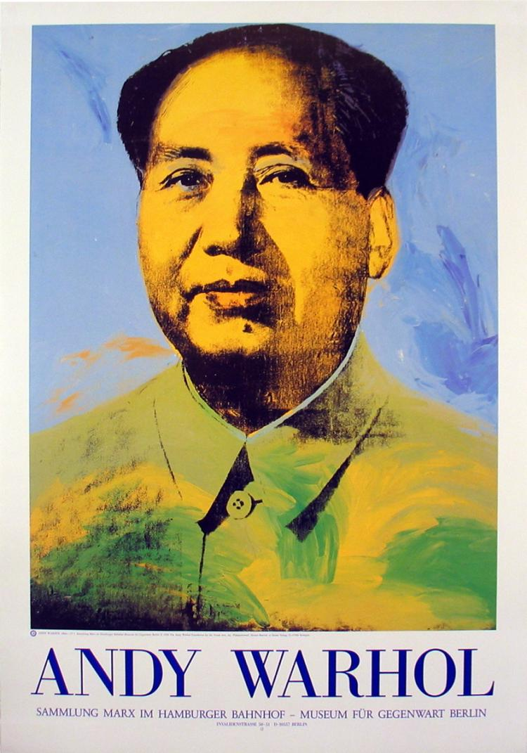 Andy Warhol - Mao - 1983