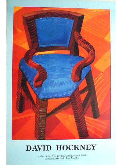 David Hockney - Chair - 1985