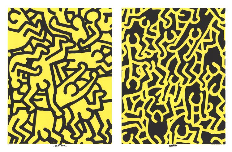 Keith Haring - Playboy KH86 - 1990