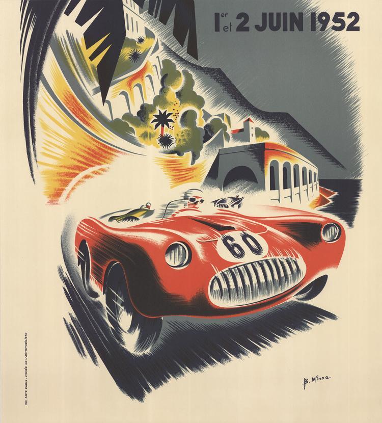 B. Minne - Monaco Grand Prix 1952 - 1995