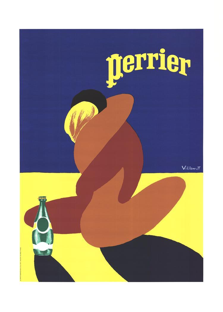 Bernard Villemot - Perrier - 1997