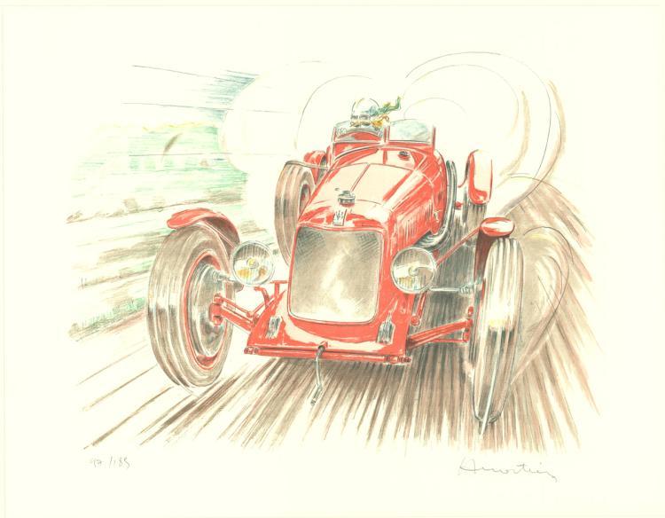 Alain Moitrier - Maserati - 1998 - SIGNED