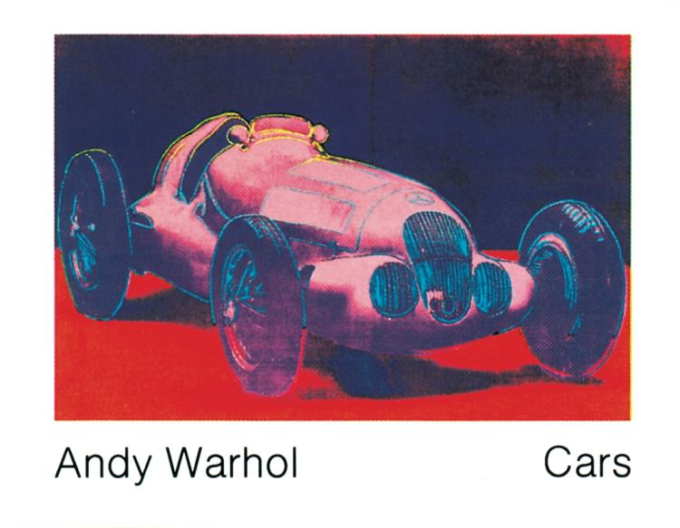 Andy Warhol - Mercedes W 125 (1937) - 1989
