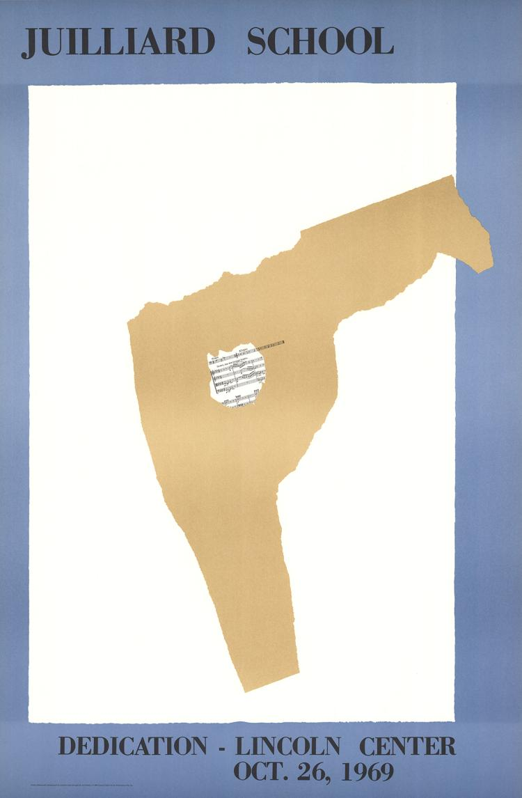 Robert Motherwell - Juilliard School Dedication - 1969