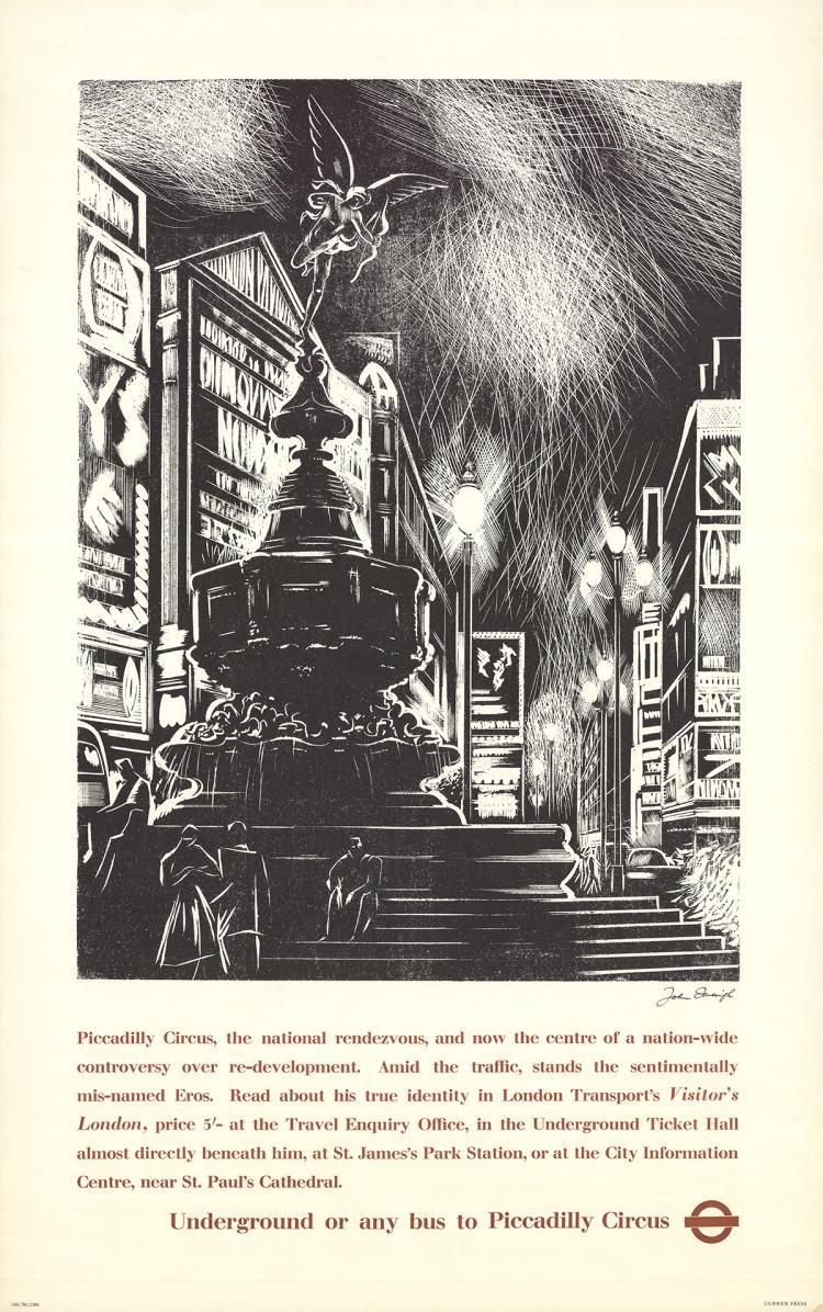 John Farleigh - Piccadilly Circus