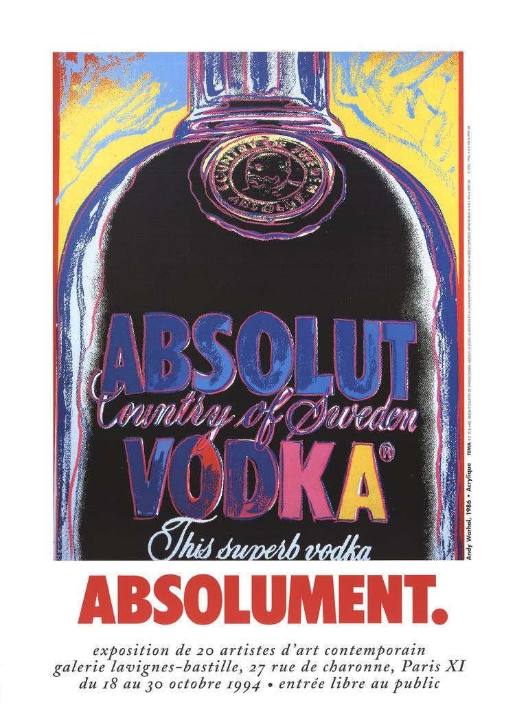Warhol - Absolut Vodka - 1994