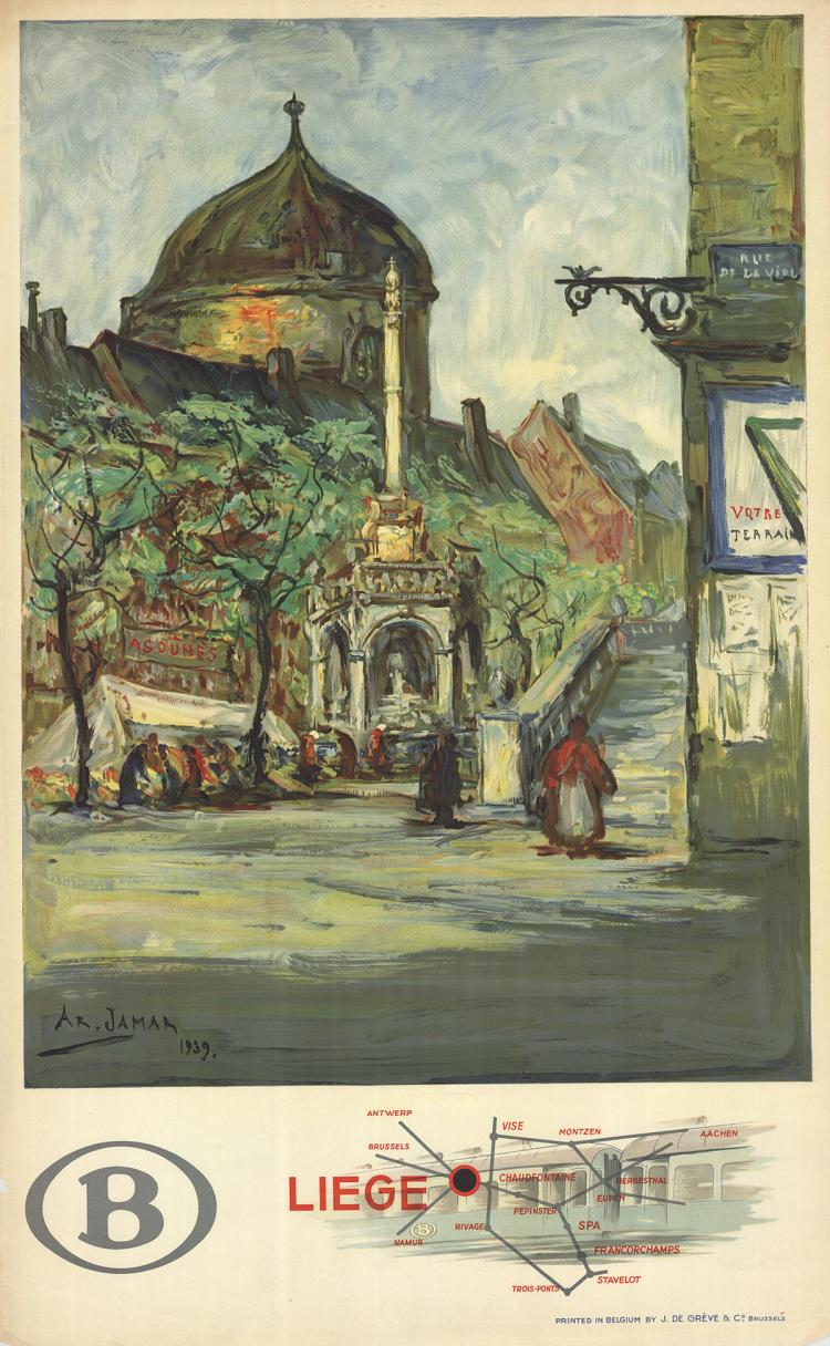 AR Jamar - Liege - 1939