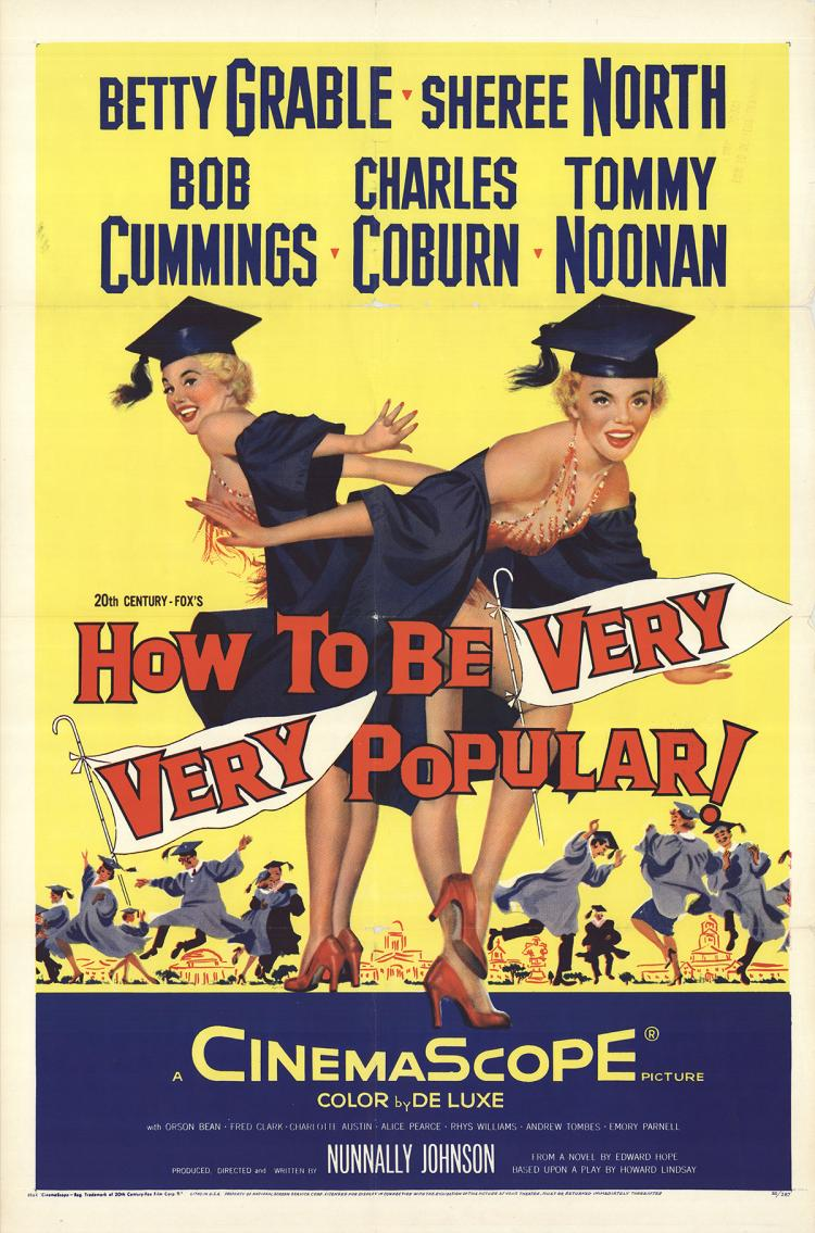 How to Be Very Very Popular - 1955