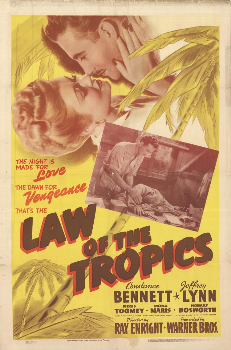 Law of the Tropics - 1941