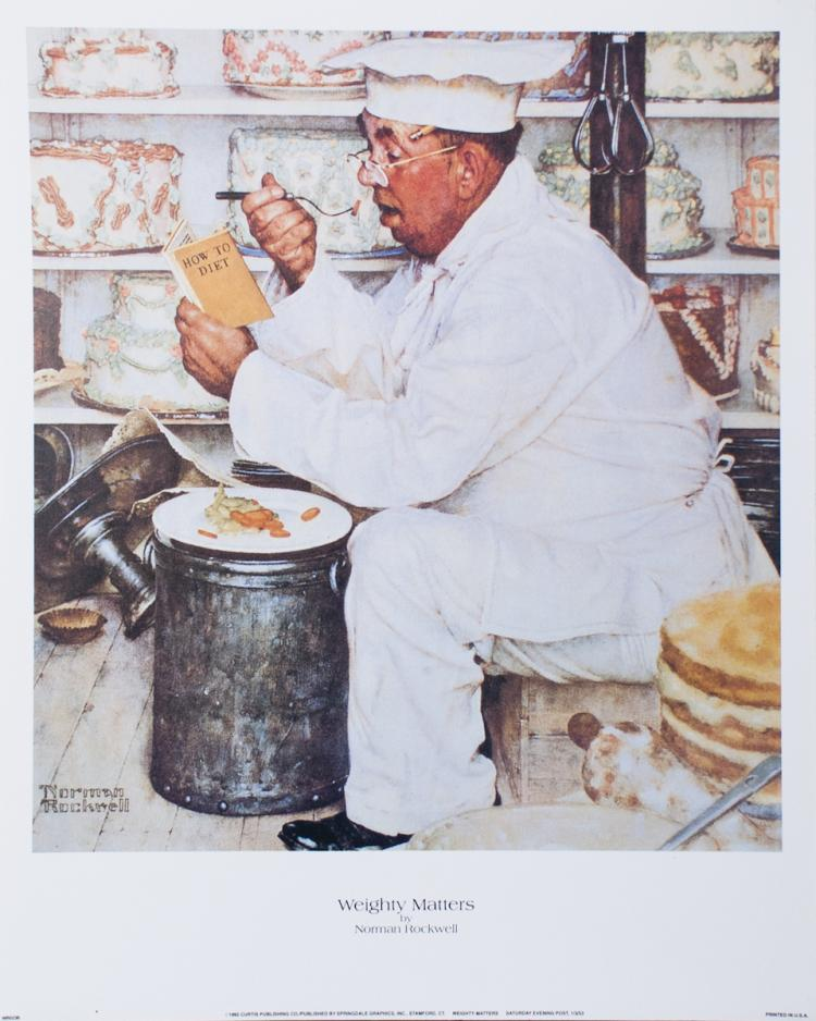Norman Rockwell - Weighty Matters - 1992