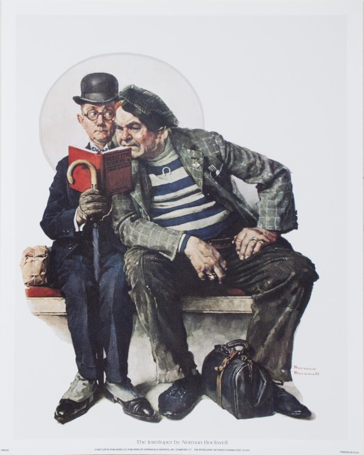 Norman Rockwell - The Interloper - 1993