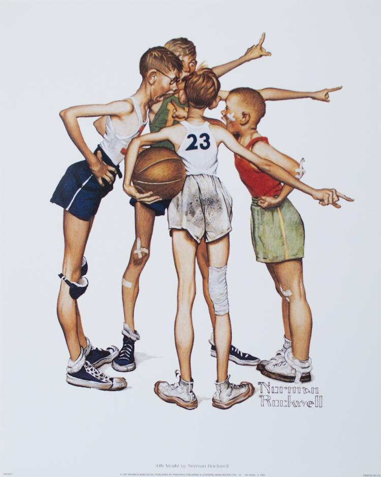 Norman Rockwell - Oh Yeah! - 1997