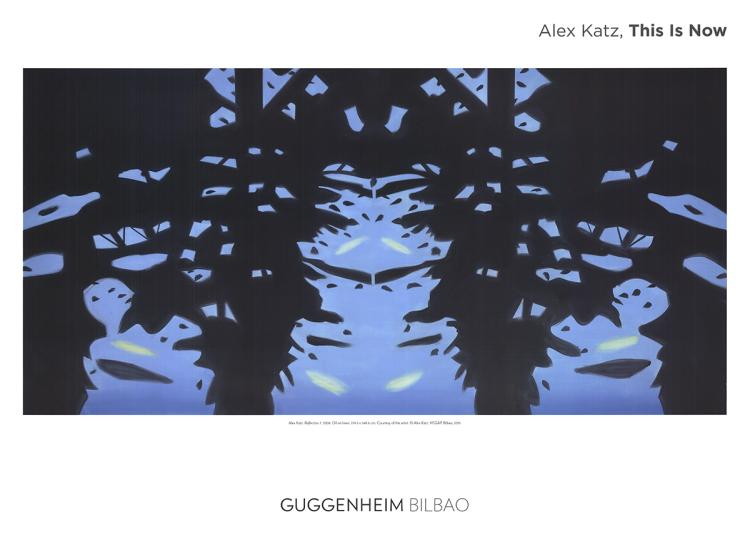 Alex Katz - Reflection 7 - 2015