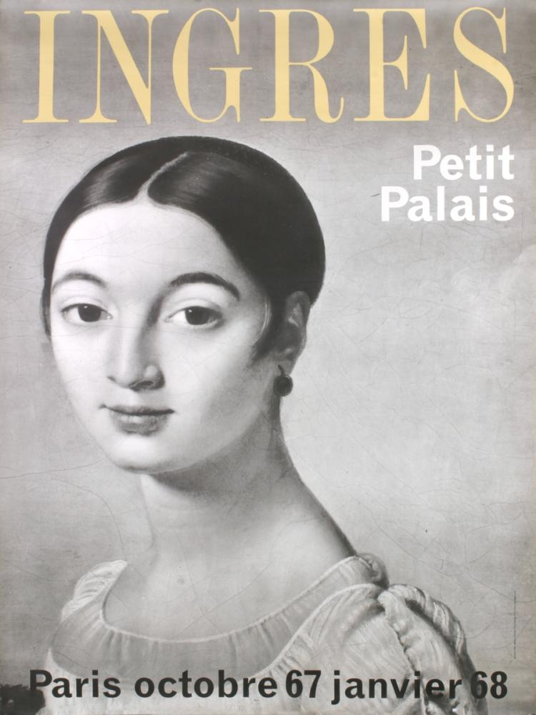 Ingres - Mademoiselle Riviere