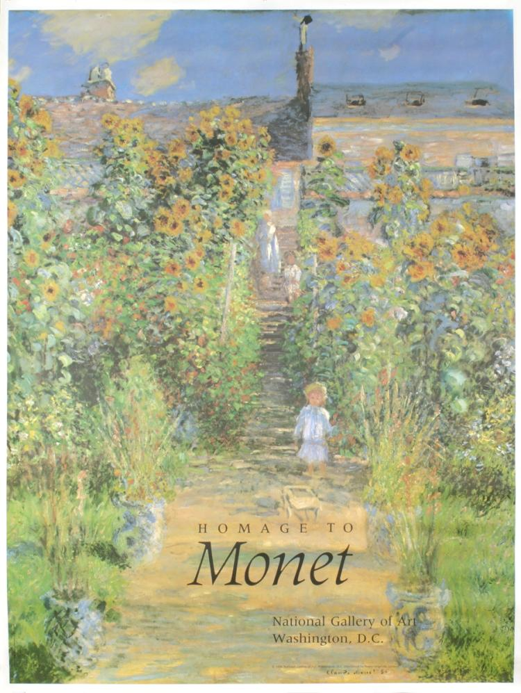 Claude Monet - Homage to Monet