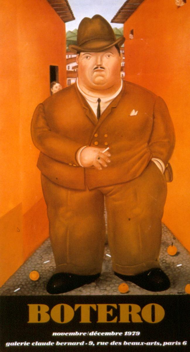 Fernando Botero - Los Cigarros - 1979