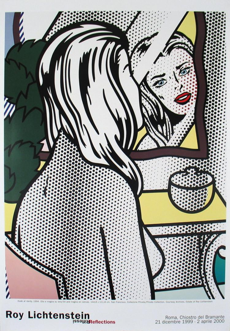 Roy Lichtenstein - Nude at Vanity - 2000