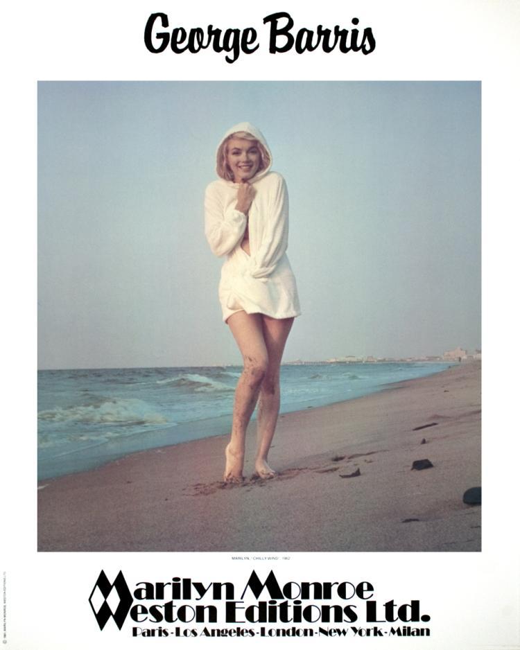 George Barris - Marilyn Monroe- Chilly Wind - 1981