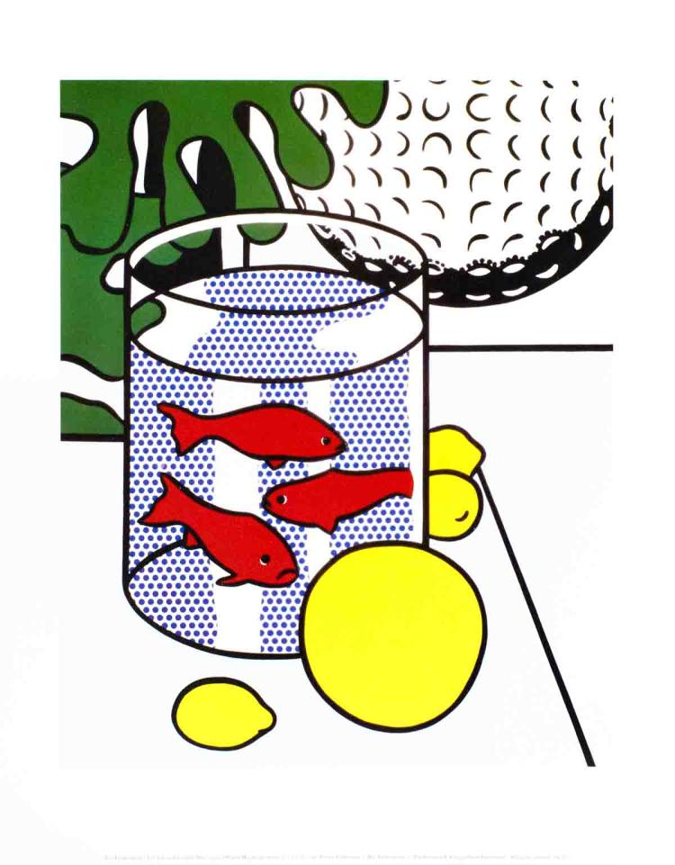 Roy Lichtenstein - Still Life with Goldfish Bowl