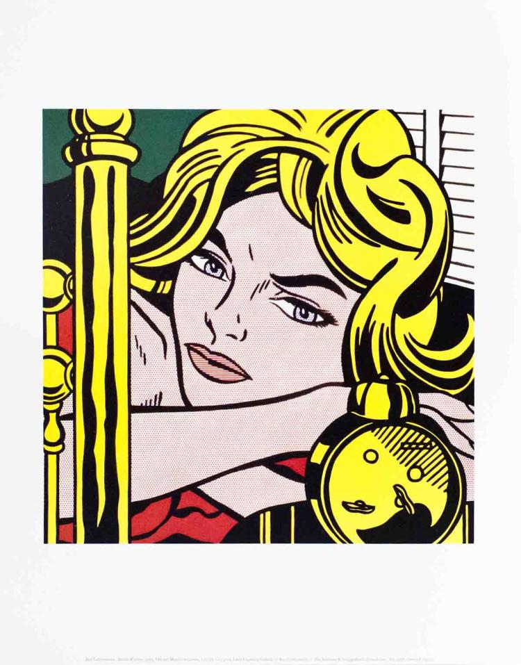 Roy Lichtenstein - Blonde Waiting