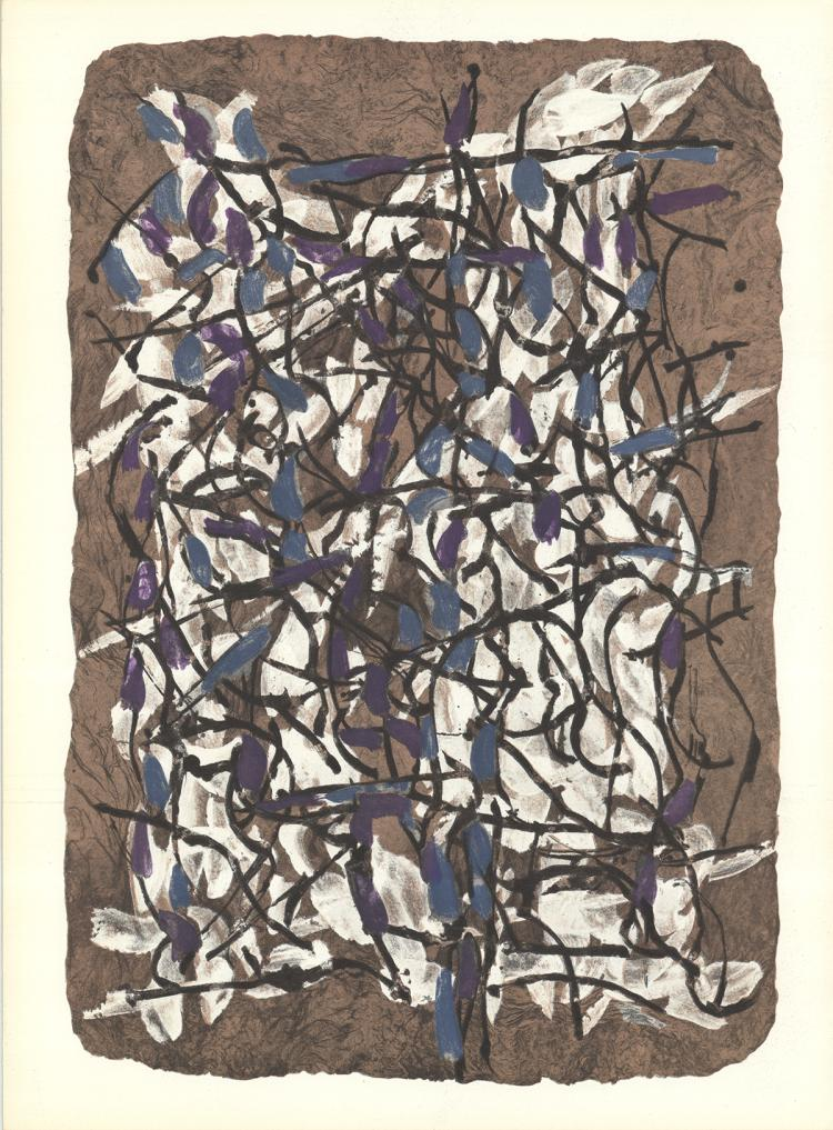 Jean-Paul Riopelle - Untitled - 1966
