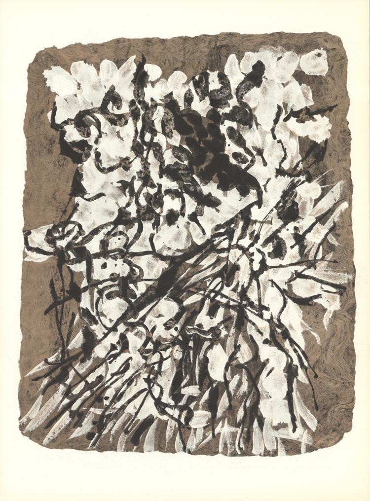 Jean-Paul Riopelle - Untitled - 1966