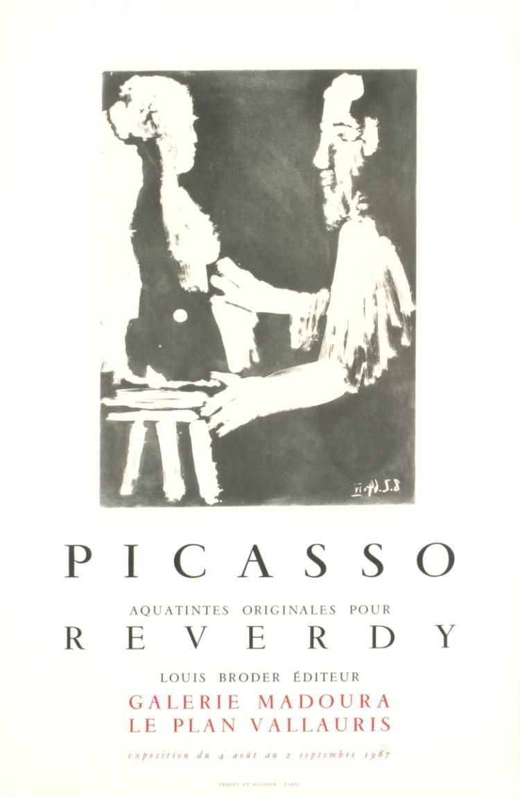 Pablo Picasso - Reverdy - 1967