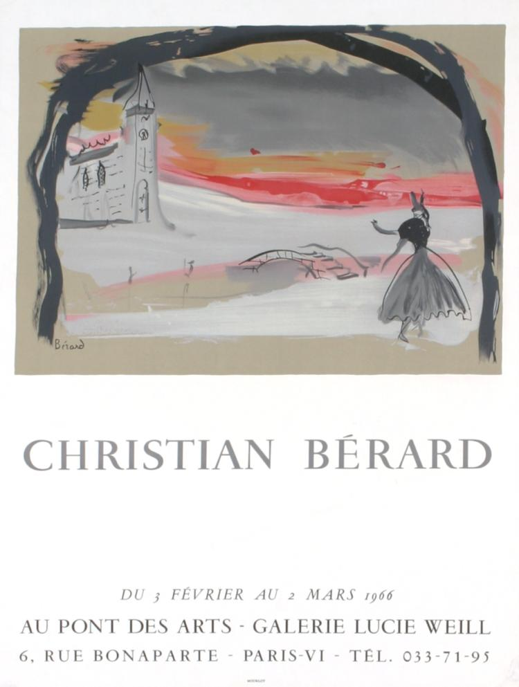 Christian Berard - Galerie Lucie Weill - 1966