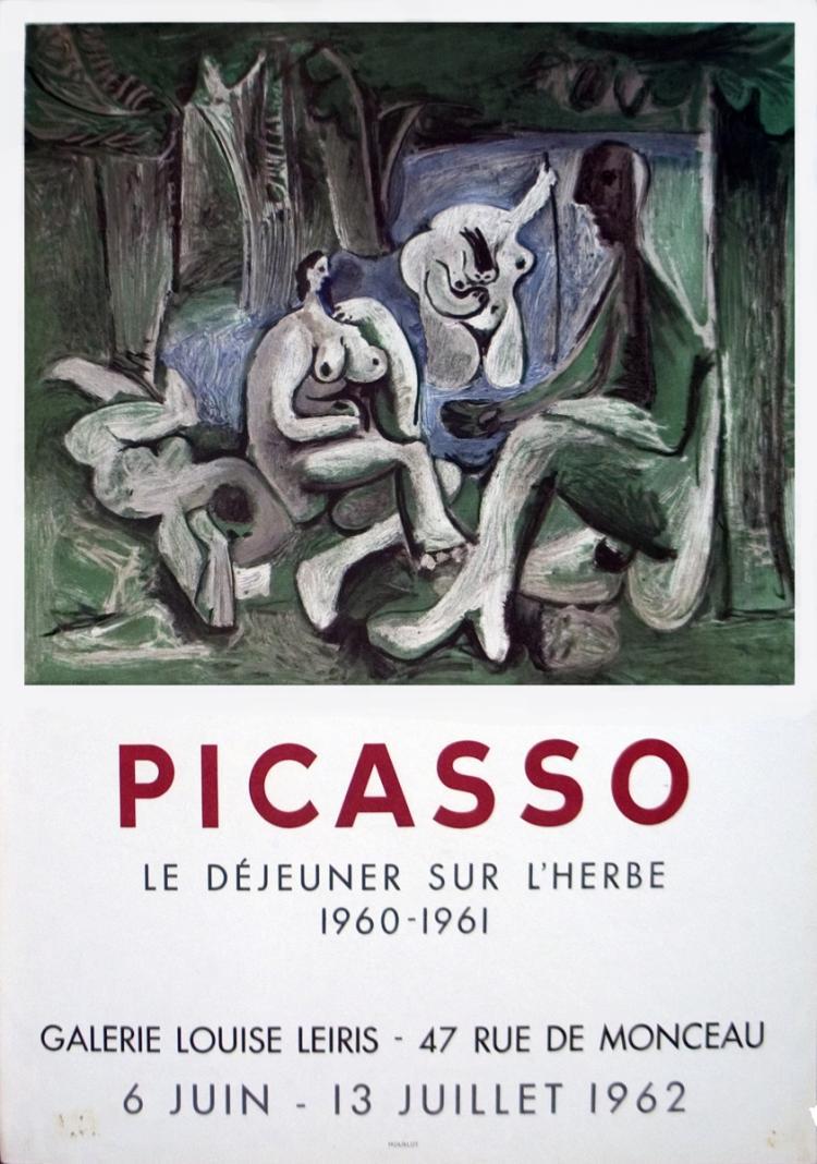 Pablo Picasso - Le Dejeuner sur l'herbe - 1962