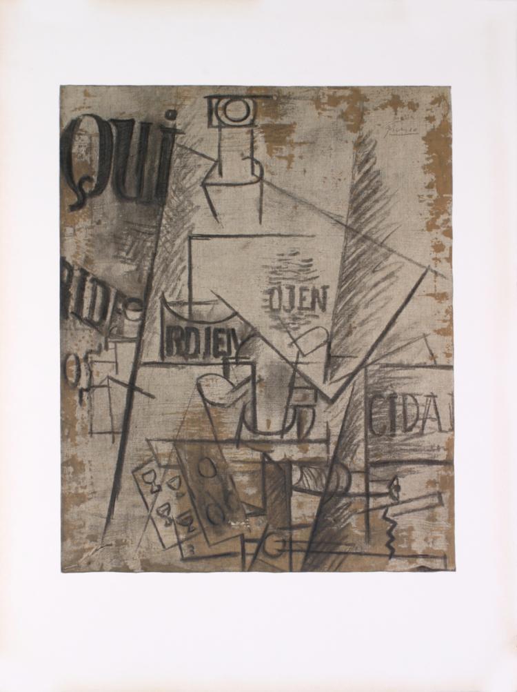 Pablo Picasso - Papiers Colles - 1966