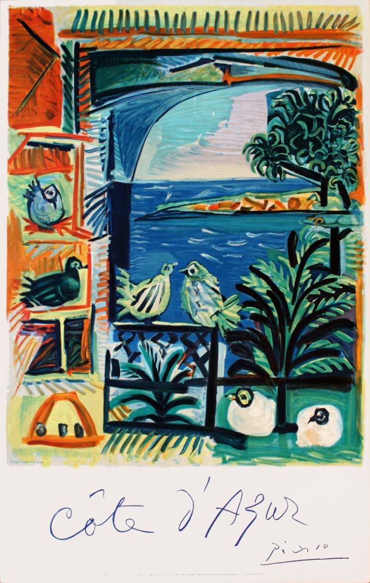 Pablo Picasso - Cote D'Azur - 1962