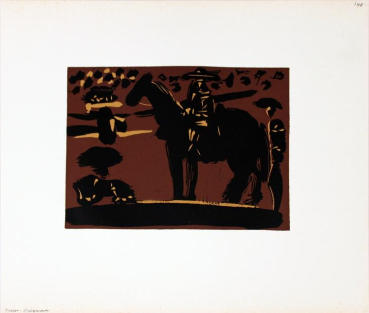 Pablo Picasso - Picador - 1962