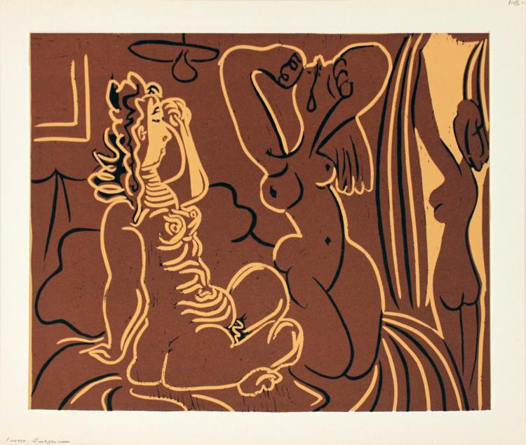 Pablo Picasso - Trois Femmes - 1962