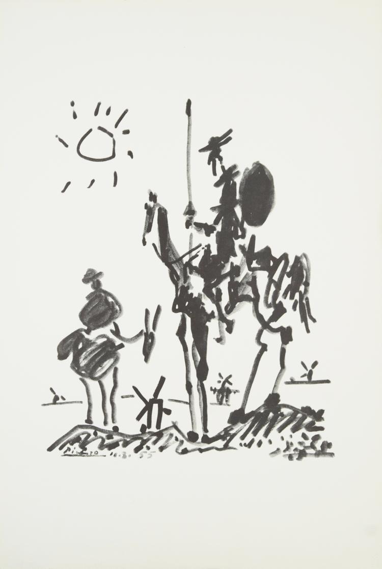 Pablo Picasso - Combat pour la paix - 1974