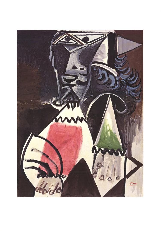Pablo Picasso - Buste d'Homme