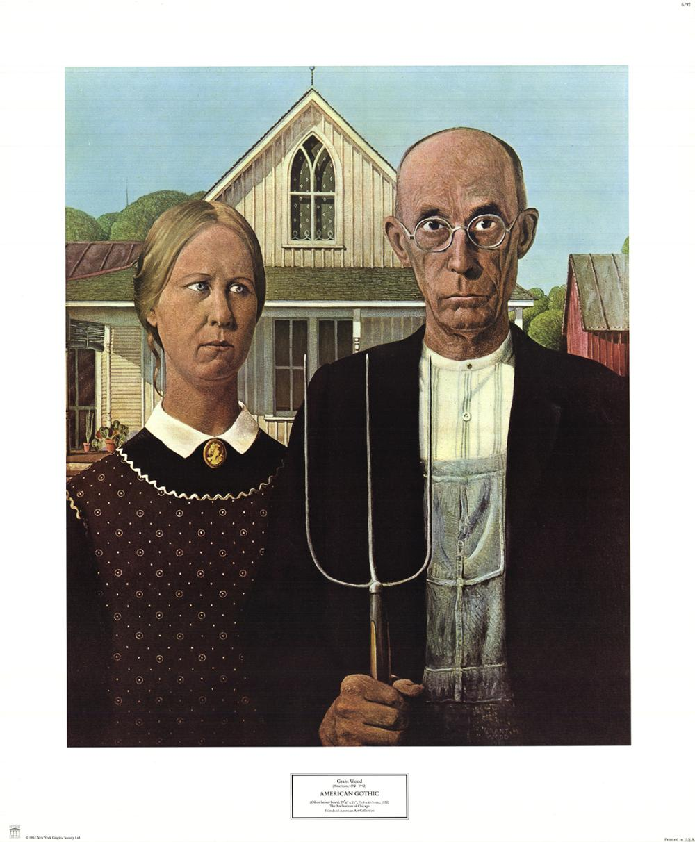Grant Wood Paintings Artwork For Sale Grant Wood Art Value Price Guide