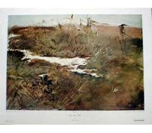 1968 Wyeth Edge Of The Field Collotype