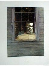 1977 Wyeth Geraniums Poster