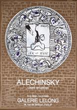 Pierre Alechinsky - Enameled Lava - 1988