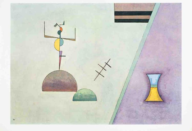 Wassily kandinsky derriere le miroir no 154 double page for Le miroir 71