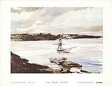 1968 Wyeth Bermuda Poster