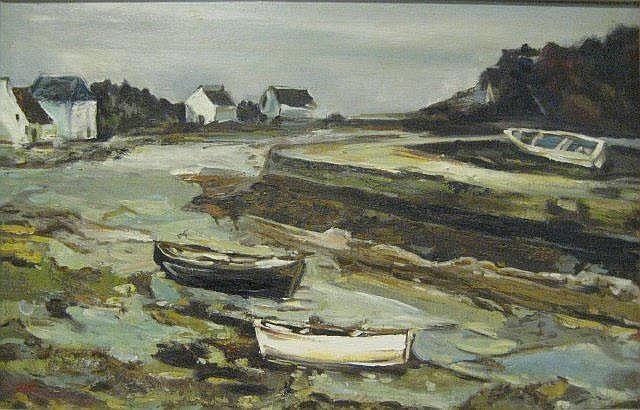 MIA FUNK  'Kinsale Looking Back' oil on canvas