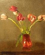 ALMA FIGUEROLA (1895 - 1969) 'Still life - Red