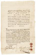 1777 Hartford Wit DAVID HUMPHREYS + SPY Officer ELI LEAVENSWORTH Signed Document